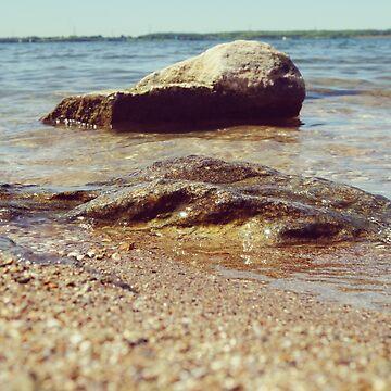 Seaside Rocks by vectorwebstore