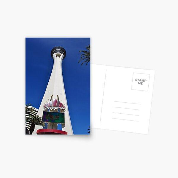 Stratosphere Tower Las Vegas Nevada America Postcard