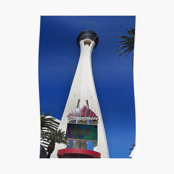 Stratosphere Tower Las Vegas Nevada America Poster