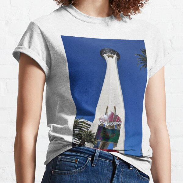 Stratosphere Tower Las Vegas Nevada America Classic T-Shirt