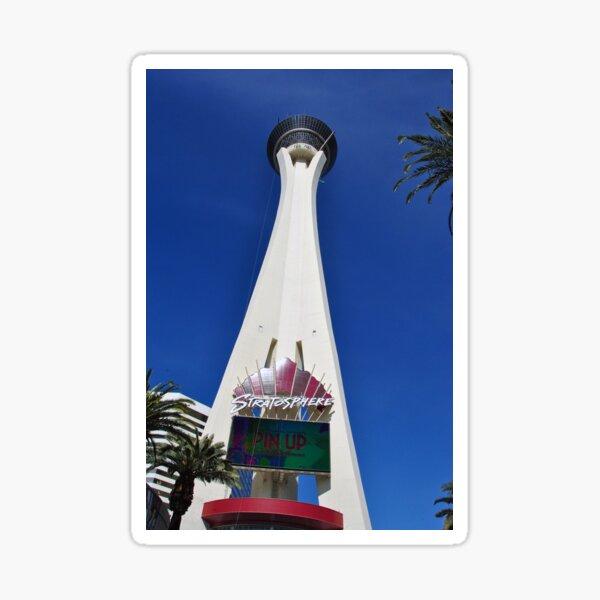 Stratosphere Tower Las Vegas Nevada America Sticker