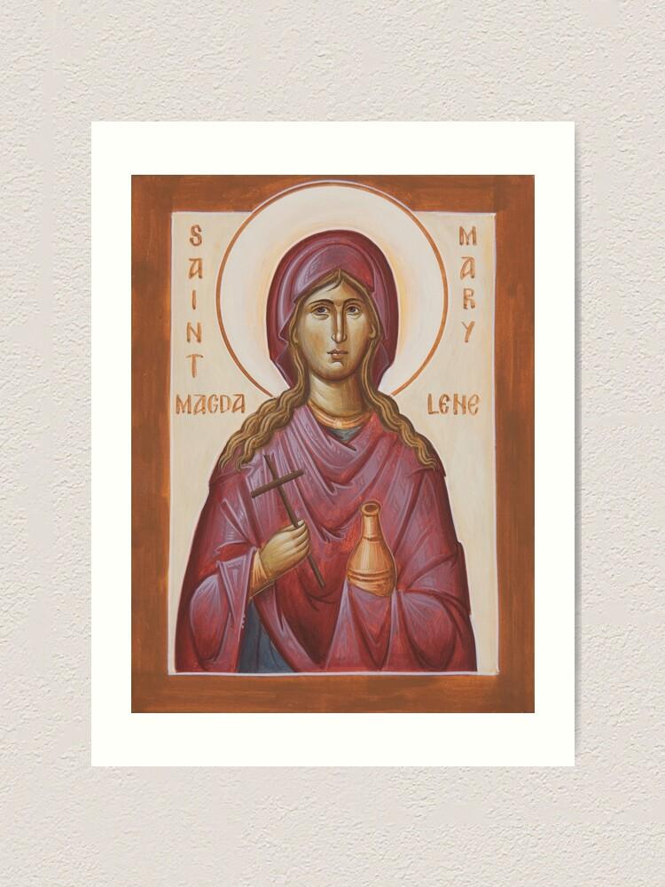 Alternate view of St Mary Magdalene Art Print
