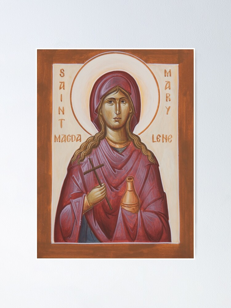 Alternate view of St Mary Magdalene Poster