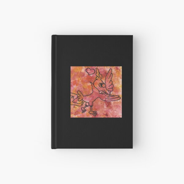 Dancing bird by Laila Cichos Hardcover Journal