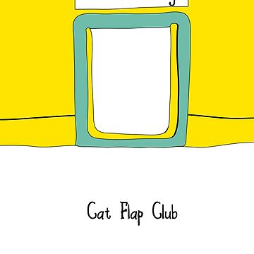 Cat Flap Club by vectorwebstore