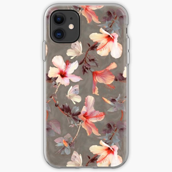 Navy & Coral Crystals iPhone 11 case