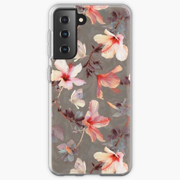 Coral Hibiscus Samsung Galaxy Soft Case