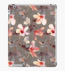 Vinilo o funda para iPad Hibisco coralino