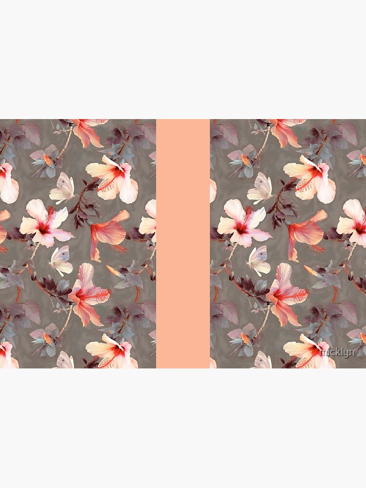 Hibisco coralino de micklyn