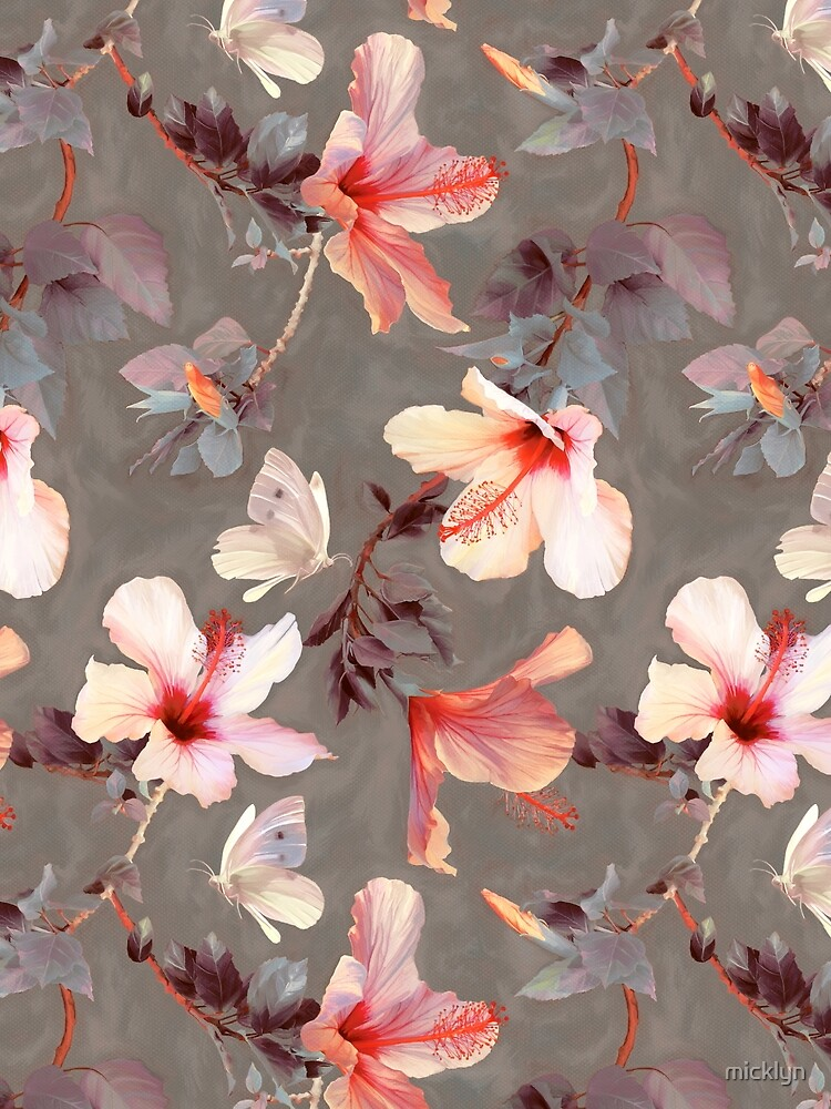 Coral Hibiscus by micklyn