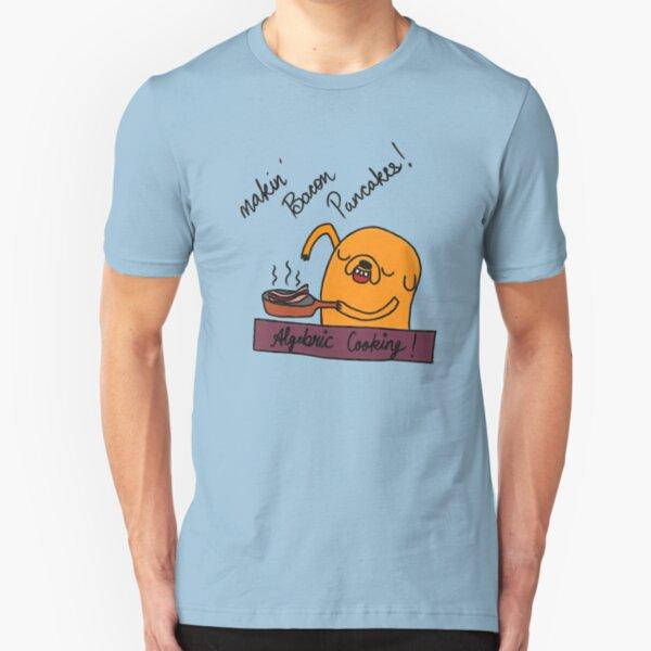 Making Bacon Pancakes Slim Fit T-Shirt