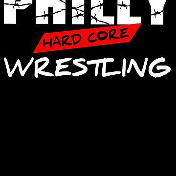 ECW Philly Hard Core T - Shirt by DannyDouglas96