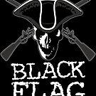 Schwarze Flagge von emporion