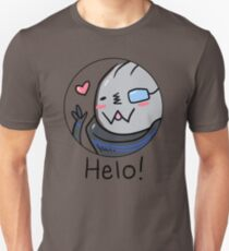 Garr-Bear Says Helo Unisex T-Shirt