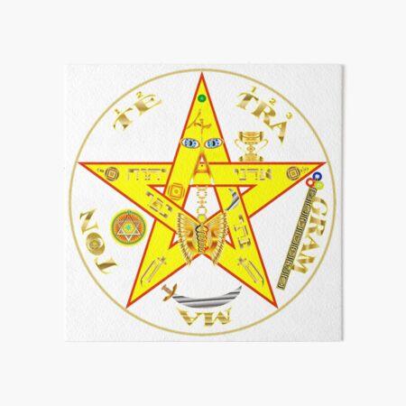 #Kundalini #Pentagrams, #KundaliniPentagrams, #Sign, Symbol, Shape, Design, Illustration, Abstract Art Board Print
