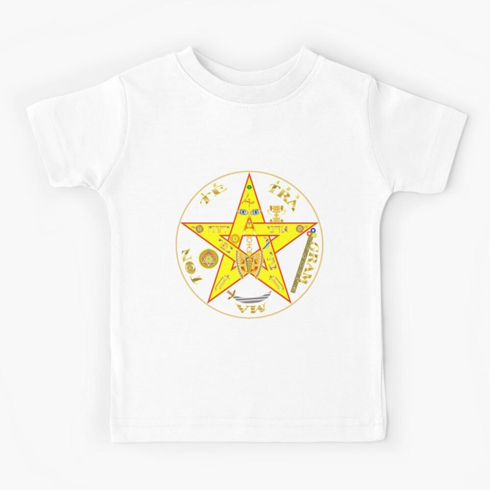 #Kundalini #Pentagrams, #KundaliniPentagrams, #Sign, Symbol, Shape, Design, Illustration, Abstract Kids T-Shirt