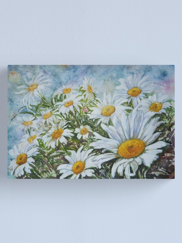Alternate view of Camomiles Canvas Print