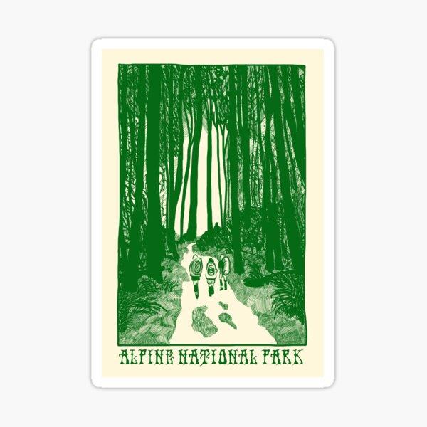 Alpine National Park Sticker