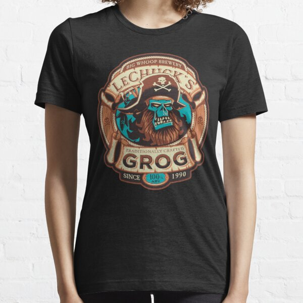 Ghost Pirate Grog - Affeninsel Craft Beer - Videospiel Essential T-Shirt
