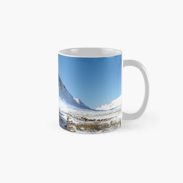 Buachaille Etive Mòr in Winter, Scottish Highlands. Classic Mug