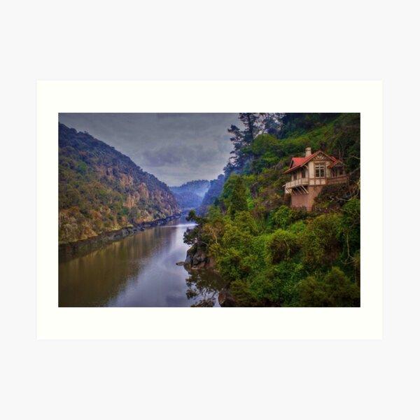Cataract Gorge Art Print