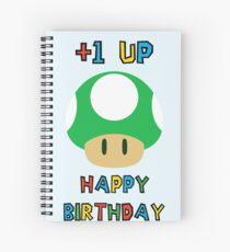 Happy Birthday - one UP Spiral Notebook
