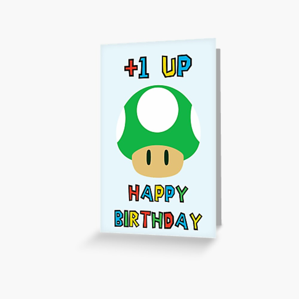 Alles Gute zum Geburtstag - ein UP Grußkarte