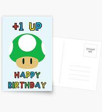 Happy Birthday - one UP Postcards