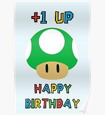 Happy Birthday - one UP Poster