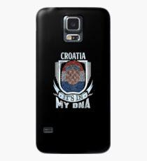 Croatia It's In My DNA - Gift For Croatian From Croatia Hülle & Klebefolie für Samsung Galaxy