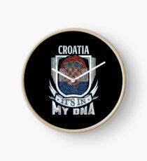 Croatia It's In My DNA - Gift For Croatian From Croatia Uhr