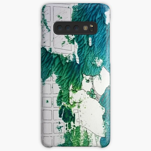 Lost home of childhood by Laila Cichos Samsung Galaxy Snap Case
