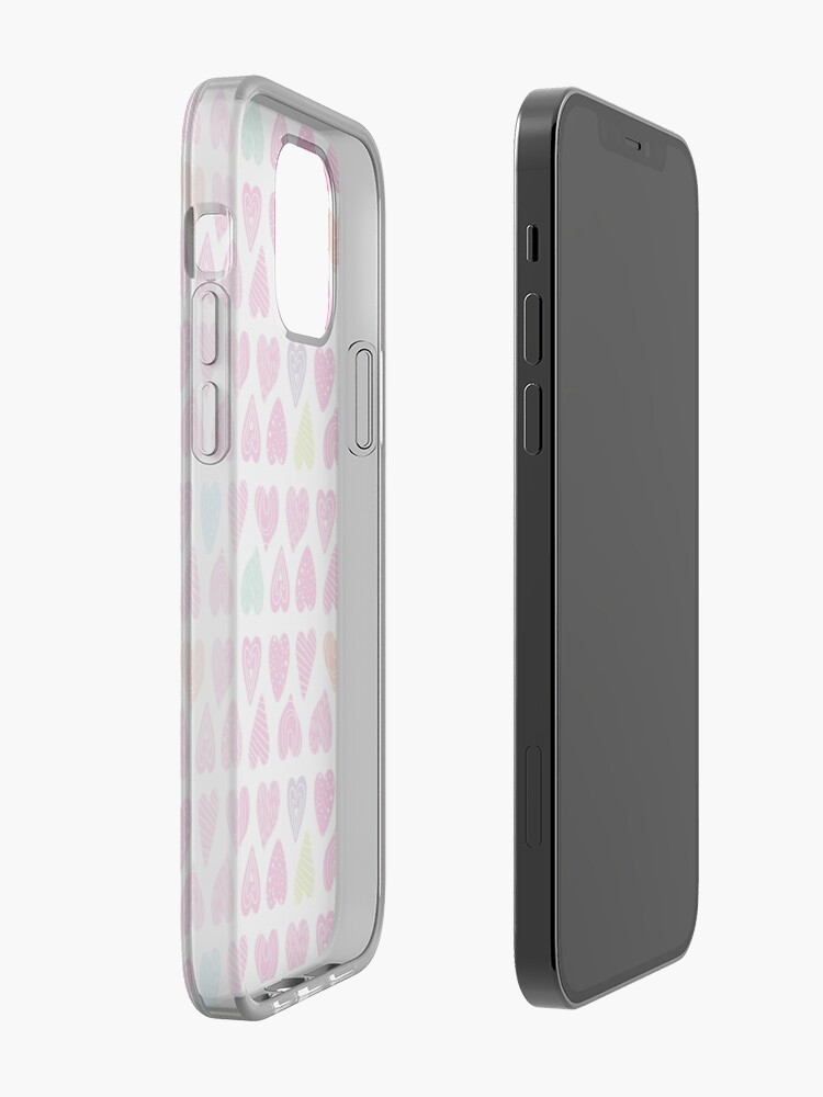 Alternate view of Heart full of hope pattern iPhone Case & Cover