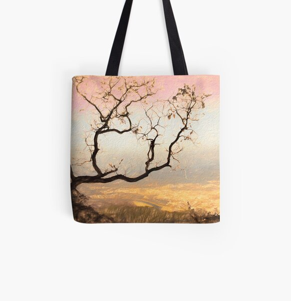 It's Delicate All Over Print Tote Bag