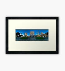 Statue Square, Hong Kong - 360 Panoramic Framed Print
