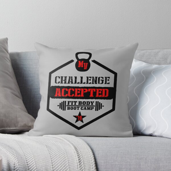 Mission Viejo - Challenge Accepted Throw Pillow