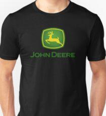John Deere Schwere Ausrüstung Slim Fit T-Shirt