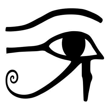 #Eye of #Horus - #Ancient #Egyptian Symbol of Protection, Royal Power, and Good Health by znamenski