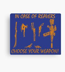 In Case Of Reavers... Canvas Print