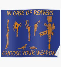 In Case Of Reavers... Poster
