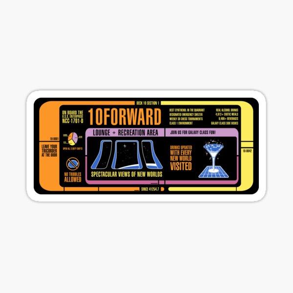 10FORWARD Sticker