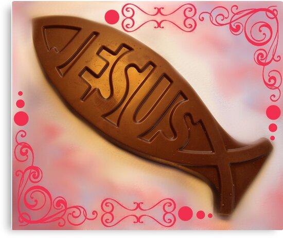 Easter Chocolate by WildestArt