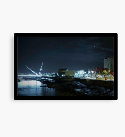 UFO over Newport Canvas Print