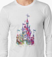 Château Princesse T-shirt manches longues