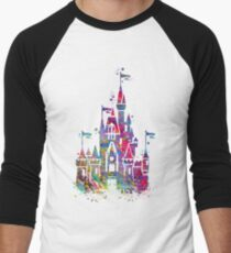 Princess Castle  Men's Baseball ¾ T-Shirt