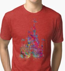 Princess Castle  Tri-blend T-Shirt