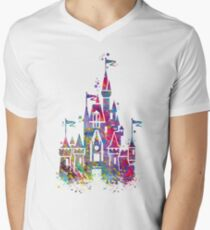 Princess Castle Watercolor T-Shirt