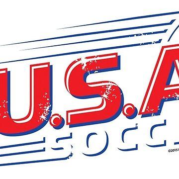 U.S.A Soccer Pride by hennemandesign