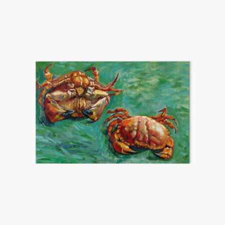 Vincent Van Gogh - Two Crabs Art Board Print