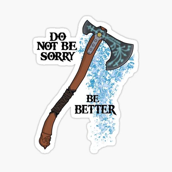 Be Better Sticker